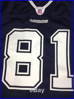 100% Authentic Reebok Dallas Cowboys Terrell Owens NFL Jersey SZ 48 Pro Cut Rare