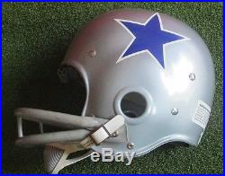1960s Dallas Cowboys Riddell Kra-Lite RK2 Suspension Football Helmet