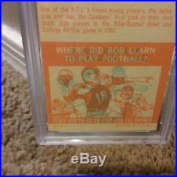 1963 Topps #82 Bob Lilly ROOKIE CARD, PSA 7, DALLAS COWBOYS HOFer, NFL LEGEND