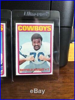 1972 Topps Football Card Complete Set (1 351) With High Numbers Mid Grade Set