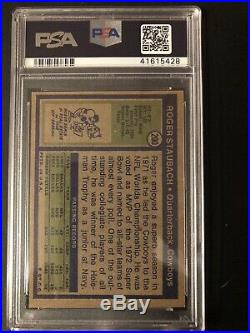 1972 Topps Roger Staubach RC Dallas Cowboys #200 Football Card