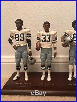 1977 Dallas Cowboys Super Bowl Champions Danbury Mint figurine Cowboy Legends