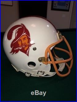 1980 Tampa Bay NFL Authentic Riddell VSR-4 ProLine Full Football Helmet NOS Mask