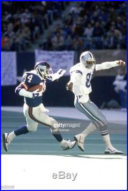 1985 Dallas Cowboys Karl Powe Vintage Game Used Worn Football Jersey