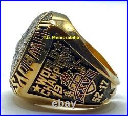 1992 Dallas Cowboys Super Bowl XXVI Champions Championship Ring Balfour Aikman
