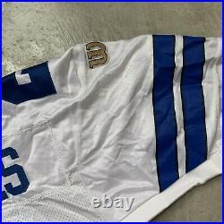 1996 Wilson Dallas Cowboys Deion Sanders Authentic Home Jersey sz Large (46)