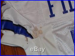 1998 DALLAS COWBOYS VINTAGE GAME USED NIKE FOOTBALL JERSEY FILIKITONGA 1990s