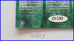 2000 Playoff Hawaii Autograph Emmitt Smith Edgerrin James & Ricky Williams #1/10