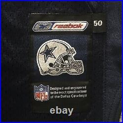 2001 Reebok NFL Authentic Jersey Dallas Cowboys Troy Aikman Sz. 50 Stitched VTG