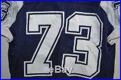 2002 Authentic Dallas Cowboys Larry Allen Thanksgiving Game Issued Worn Jersey