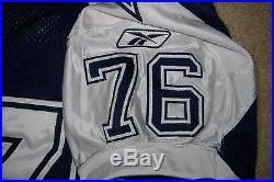 2002 Flozell Adams Dallas Cowboys Game Issued Jersey Throwback Thanksgiving Used