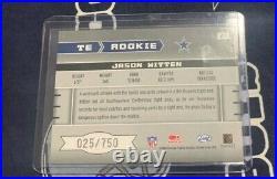 2003 Leaf ROOKIES & STARS Dallas Cowboys JASON WITTEN Autograph AUTO Rookie # RC