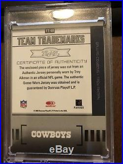 2004 Leaf Limited Troy Aikman Auto/Relic 25 of 25