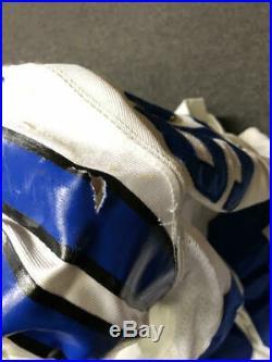 2005 Bradie James Dallas Cowboys Game Used Worn Football Jersey! LSU Hammered