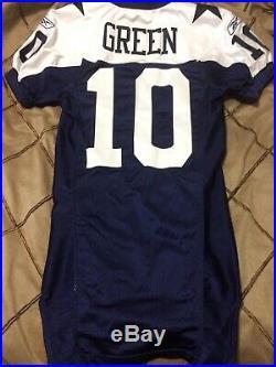 2006 NFL Skylar Green Dallas Cowboys Game Used Worn Thanksgiving Jersey Prova