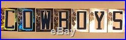 2008 Icons Herschel Walker Immortal Lettermen Cowboys Complete Set /73 & /84