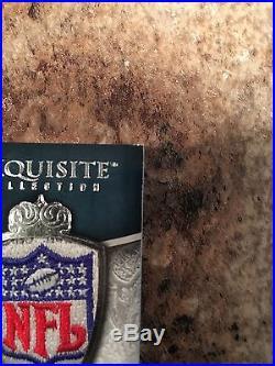 2009 UD Exquisite Donovan Mcnabb Tony Romo 1/1 Auto NFL Logo Shield Cowboys RARE