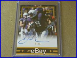 2016 Leaf Ultimate Football Autograph Serial-Numbered On Card Auto RC CHOICE