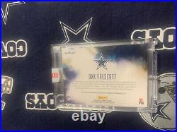 2016 ORIGINS FS Dallas Cowboys DAK PRESCOTT Autograph AUTO 4c JERSEY # Rookie RC