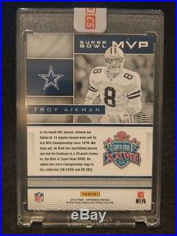 2016 Panini Contenders 1/1 Troy Aikman Super Bowl XXVII MVP Auto Dallas Cowboys