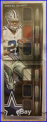 2016 Panini Playbook Ezekiel Elliott Armory 6 Relic #/25! SP Cowboys