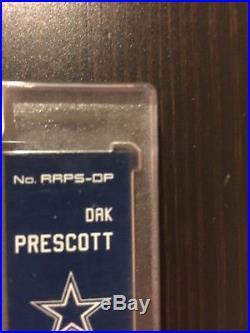 2016 Panini Spectra Dak Prescott RC Auto Game Used Jersey 50/199 Cowboys