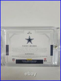 2018 National Treasures 7/10 NFL Patch Auto card TONY ROMO Cowboys