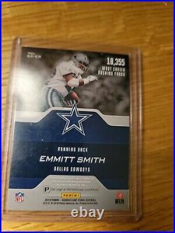2019 Rookies Stars Emmitt Smith Jersey Patch Auto SSP /5 Cowboys WOW