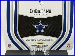2020 Panini Certified CeeDee Lamb #5 Rookie FOTL Purple Color /10 RARE