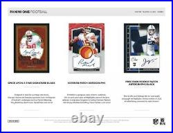 2020 Panini One Football NFL Factory Sealed Hobby Box ONE AUTO HIGH END NEW