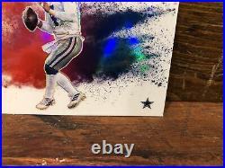 2020 Prizm Football Color Blast Dak Prescott Ssp Dallas Cowboys