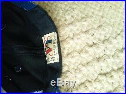 2 Vintage Dallas cowboys logo Athletic Black Dome Shark Tooth Snapback Hat