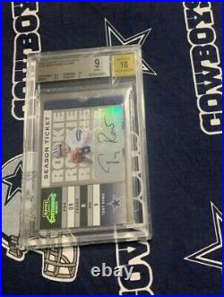 9/10 BGS 2003 CONTENDERS Dallas Cowboys TONY ROMO Autograph AUTO RC #D Rookie