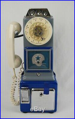 Authentic Dallas Cowboys Stadium Payphone Rotary Telephone Rare