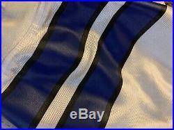 Authentic Emmitt Smith Dallas Cowboys Jersey Reebok 48 XL Rare Pro Line Stitch