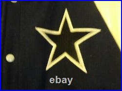 Authentic Mitchell & Ness Dallas Cowboys Throwback Varcity Jacket SZ 2xl RARE