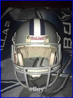 Authentic Riddell Cowboys helmet
