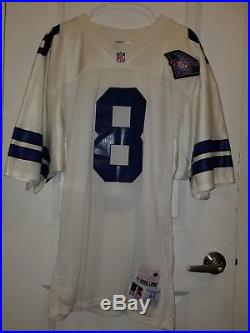 Authentic Vintage Russell Dallas Cowboys Troy Aikman Jersey Size 44