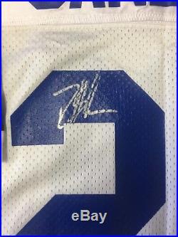 Autographed Deion Sanders Vintage 1995 Authentic Dallas Cowboys Jersey RARE
