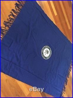 Beautiful Retro Vintage Pendleton Wool Dallas Cowboys Stadium Blanket with Bag