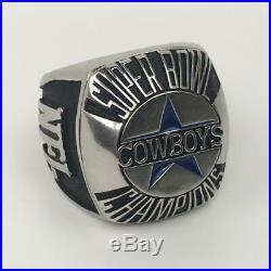 Big DALLAS COWBOYS SUPER BOWL CHAMPION 1992 XXVII Commemorative Paperweight Ring
