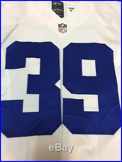Brandon Carr Dallas Cowboys Game Issued Used Worn Jersey Cleats Ravens #39