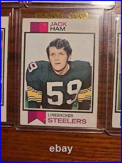 COMPLETE SET 1973 Topps Football Cards- Namath, Stabler, Harris, Ham, TEAM CARDS