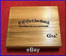 Case XX1996 Dallas Cowboys Super Bowl XXX Trapper Pocket Knife 4 1/8Wood Box