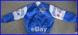 Chalk Line Super Bowl XXVII Button Up Jacket XL NFL Rose Bowl 1993 Cowboys Bills