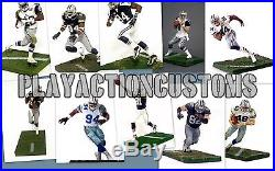 Choice of 1 Dallas Cowboys Custom Action Figure made with Mcfarlane NFL