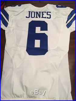 Chris Jones #6 Dallas Cowboys Game Used Jersey & Helmet Shell Throwback Punter