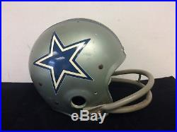 Circa 1970 Craig Morton Dallas Cowboys Game Used Suspension Helmet