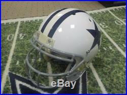 Cole Beasley Game Used Game Worn Helmet Dallas Cowboys
