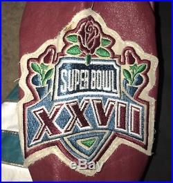 Crazy Rare Dallas Cowboys Jeff Hamilton Leather Denim Jacket XXL 2xl